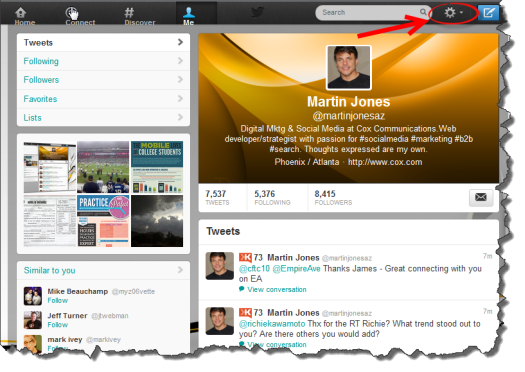 How To Switch to the New Twitter Layout and Personal Profile