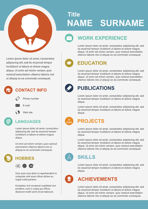 How to Create a Polished Infographic Resume [Infographic] - Cox BLUE